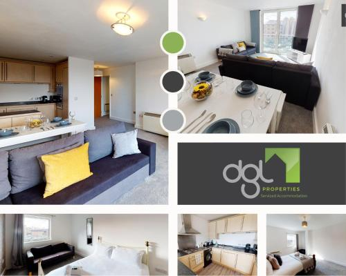 dgl Properties Serviced Accommodation Southampton 2 Bedroom Apartment Ocean Village