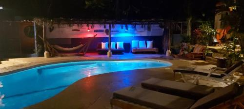 The swimming pool at or near Massai Apartments