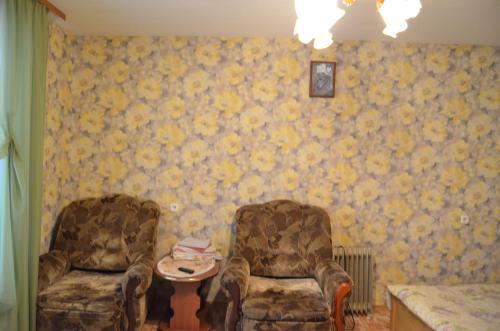 Гостиная зона в Апартаменты на Новгородской