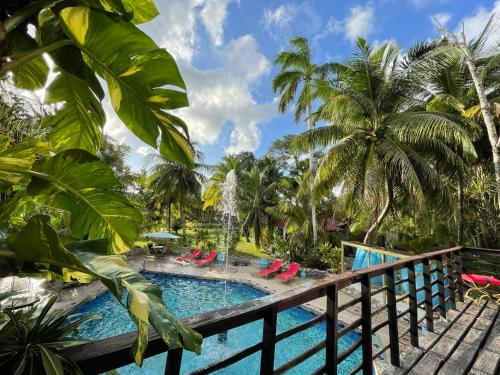 A view of the pool at Belize Boutique Resort & Spa or nearby