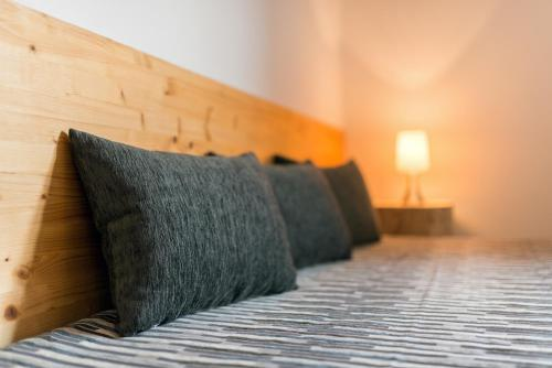 Postel nebo postele na pokoji v ubytování Relax Zone Vrchovina