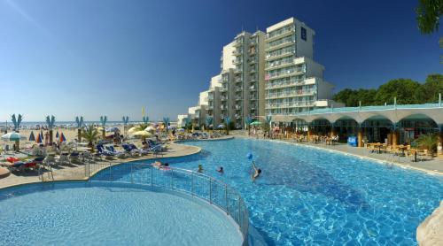 The swimming pool at or near Hotel Boryana