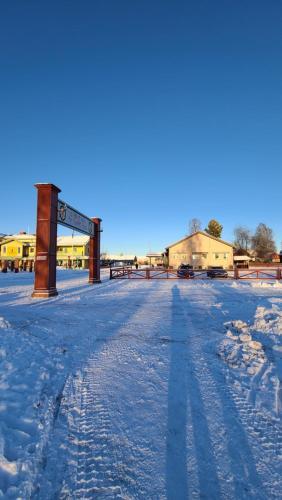 Poolen vid eller i närheten av STF Hostel Mora - Målkullan