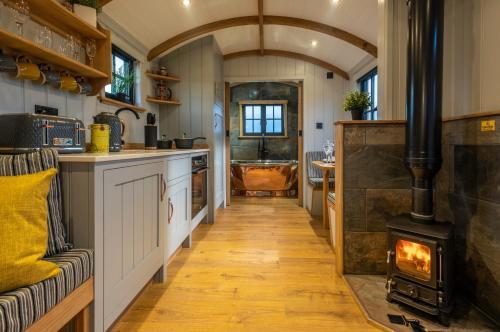 Monkwood Shepherds Hut