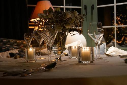 Een restaurant of ander eetgelegenheid bij Hotel Villa Verdi