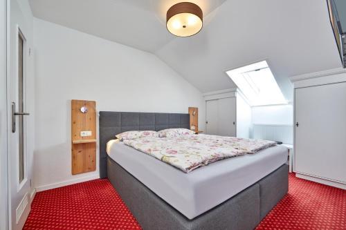 Un ou plusieurs lits dans un hébergement de l'établissement Alpen Gästehaus Gerold