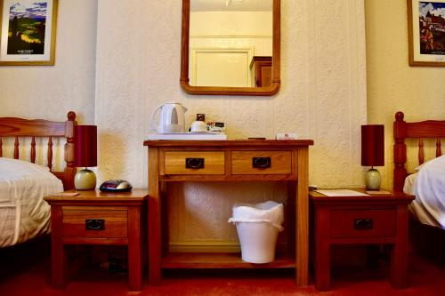 A bathroom at Bewdley Hill House