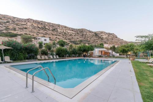 The swimming pool at or near Matala Bay Hotel & Apartments