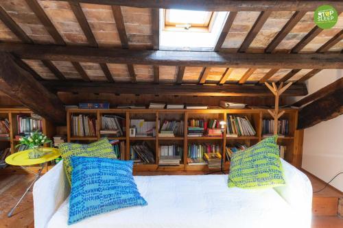 Biblioteca nel bed & breakfast