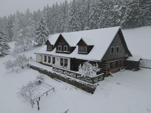 Horský Ranč during the winter