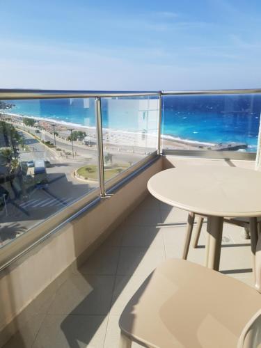 A balcony or terrace at Europa Hotel