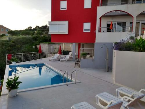 The swimming pool at or close to Luxury Apartments Villa Lenka