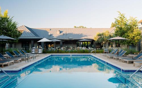 The swimming pool at or near Villagio at The Estate Yountville