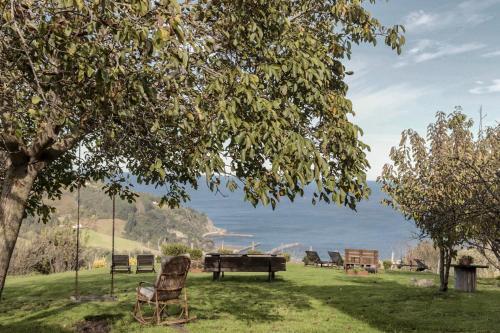 Jardín al aire libre en Arriola Txiki