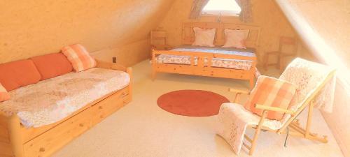 Ein Bett oder Betten in einem Zimmer der Unterkunft By Boock's