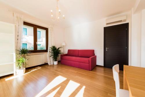 A seating area at Appartamenti Meridiana