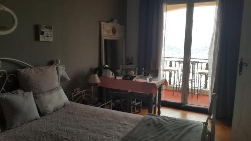Cama o camas de una habitación en La Tuiliere