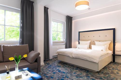 Cama o camas de una habitación en Hotel zum Kuhhirten