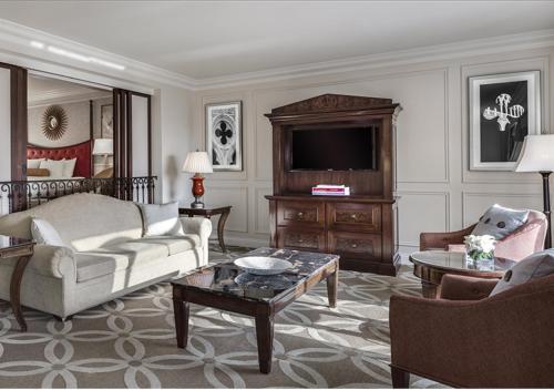 A seating area at The Venetian® Resort Las Vegas