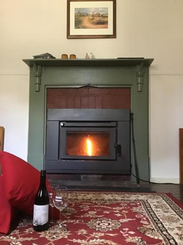 A television and/or entertainment center at Rosedale Cottages