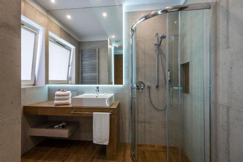 Łazienka w obiekcie Hotel Patio
