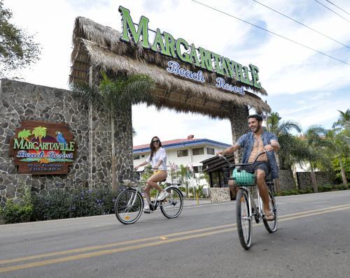 Biking at or in the surroundings of Margaritaville Beach Resort Playa Flamingo