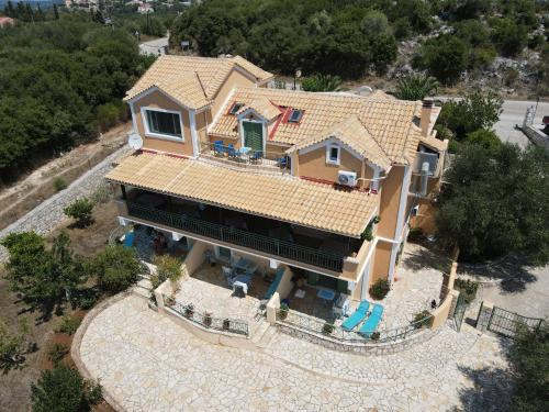 A bird's-eye view of Vegera Apartments