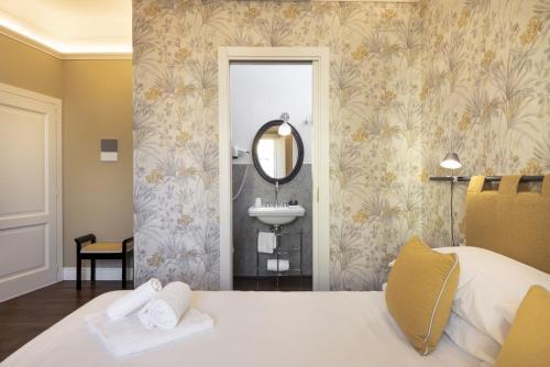 A bathroom at Parione Uno