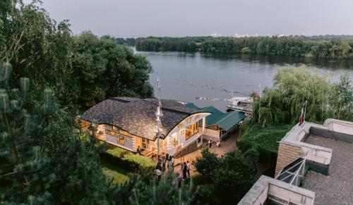 Mini hotel Gavan Nadiezhdy с высоты птичьего полета