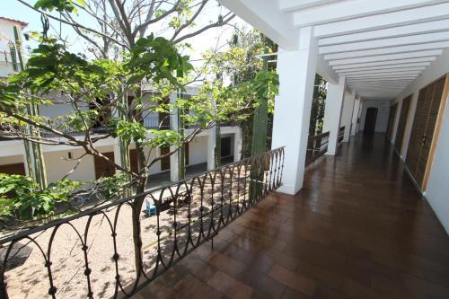 Un balcón o terraza de Hotel Azul de Oaxaca