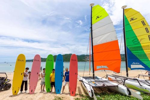 Windsurfing at the homestay or nearby