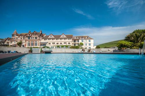 The swimming pool at or close to The Woolacombe Bay Hotel