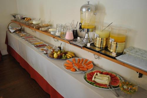 Breakfast options available to guests at Hotel Casablanca Imperial