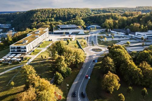 A bird's-eye view of Schlosshotel Hellenstein