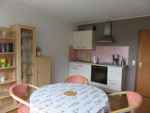Küche/Küchenzeile in der Unterkunft Ferienhaus Osterfeld