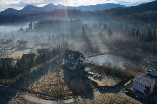 Dumbrava Soarelui during the winter