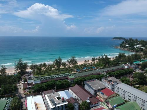 The Mantra Hotel Kata Noi с высоты птичьего полета