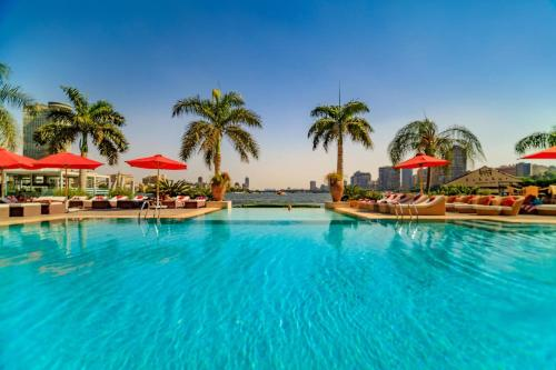 The swimming pool at or near Sofitel Cairo Nile El Gezirah