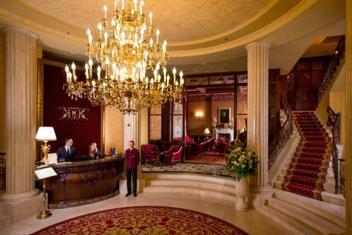 Hall ou réception de l'établissement Nobilis Hotel