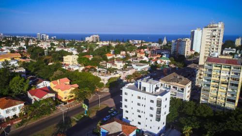A bird's-eye view of Hotel Kapital