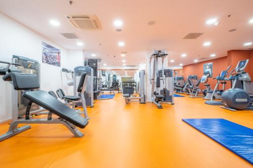 The fitness centre and/or fitness facilities at Hilton Imperial Dubrovnik