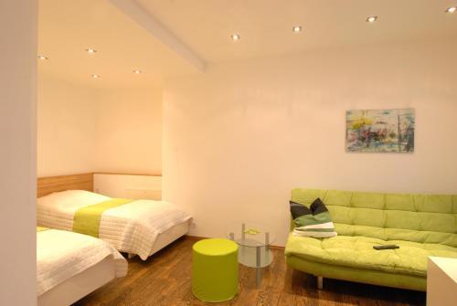 Ein Bett oder Betten in einem Zimmer der Unterkunft Appartement Haberl