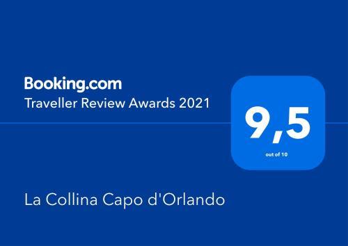 Certificato, attestato, insegna o altro documento esposto da La Collina Capo d'Orlando
