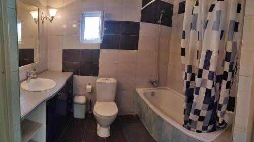 A bathroom at Guest House Gostevoy dvor