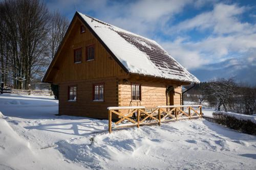 Roubenka Háj during the winter
