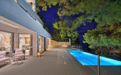 Villa Selca Brac A Stunning Contemporary 5 Bedroom Villa 5 Metres to the Beach