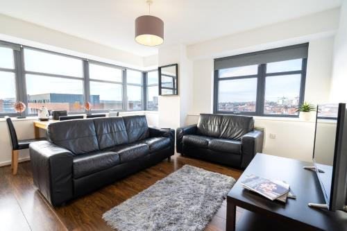 2 Bedroom Apartment City Centre - City Views - Jewellery Quarter
