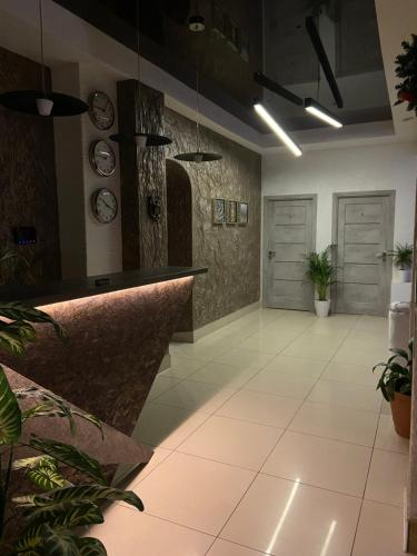 The lobby or reception area at Ararat