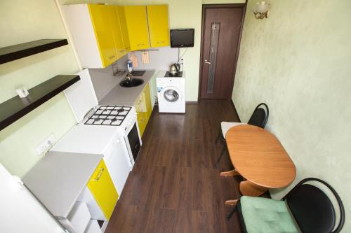 A seating area at Standard Brusnika Apartments Vykhino