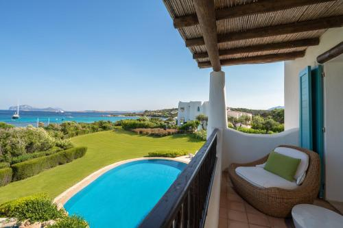 A view of the pool at Hotel Romazzino, a Luxury Collection Hotel, Costa Smeralda or nearby